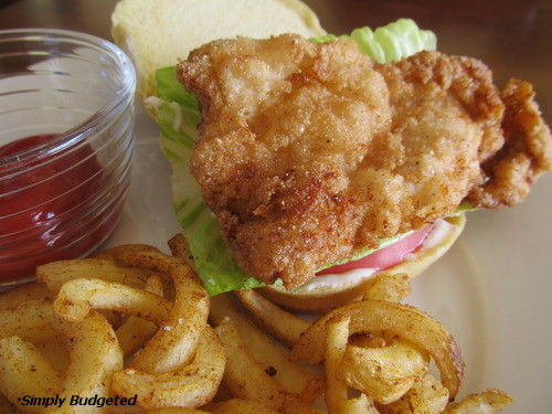 Fried Chicken Sandwich
