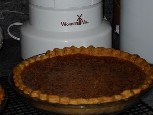 Chess Pie (Cornmeal Pie)