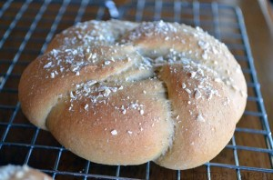King Tut's Hamburger Buns & 5 Bread Baking Tips