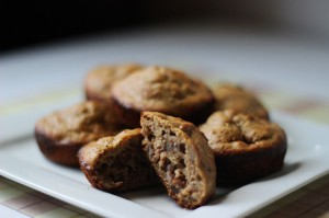 Gluten-Free Honey Nut Oat Muffins