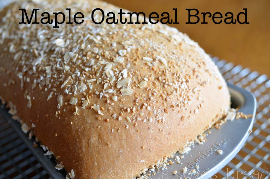 ... bread: fresh oatmeal flour is combined with whole wheat flour, bread