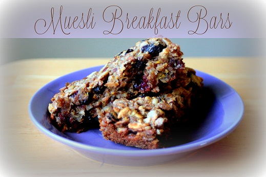 Muesli Breakfast Bars