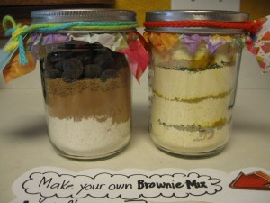 Make Your Own Brownie Mix In A Jar