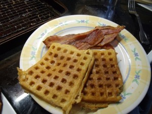 Crispy Whole Wheat Waffles