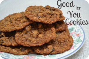 """Good-for-You"" Cookies"