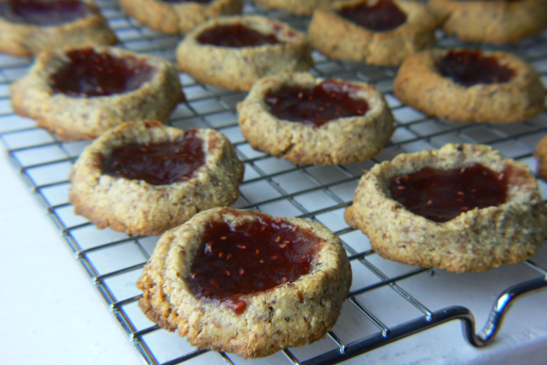Jam Thumbprint Cookies (Gluten Free/GAPS)