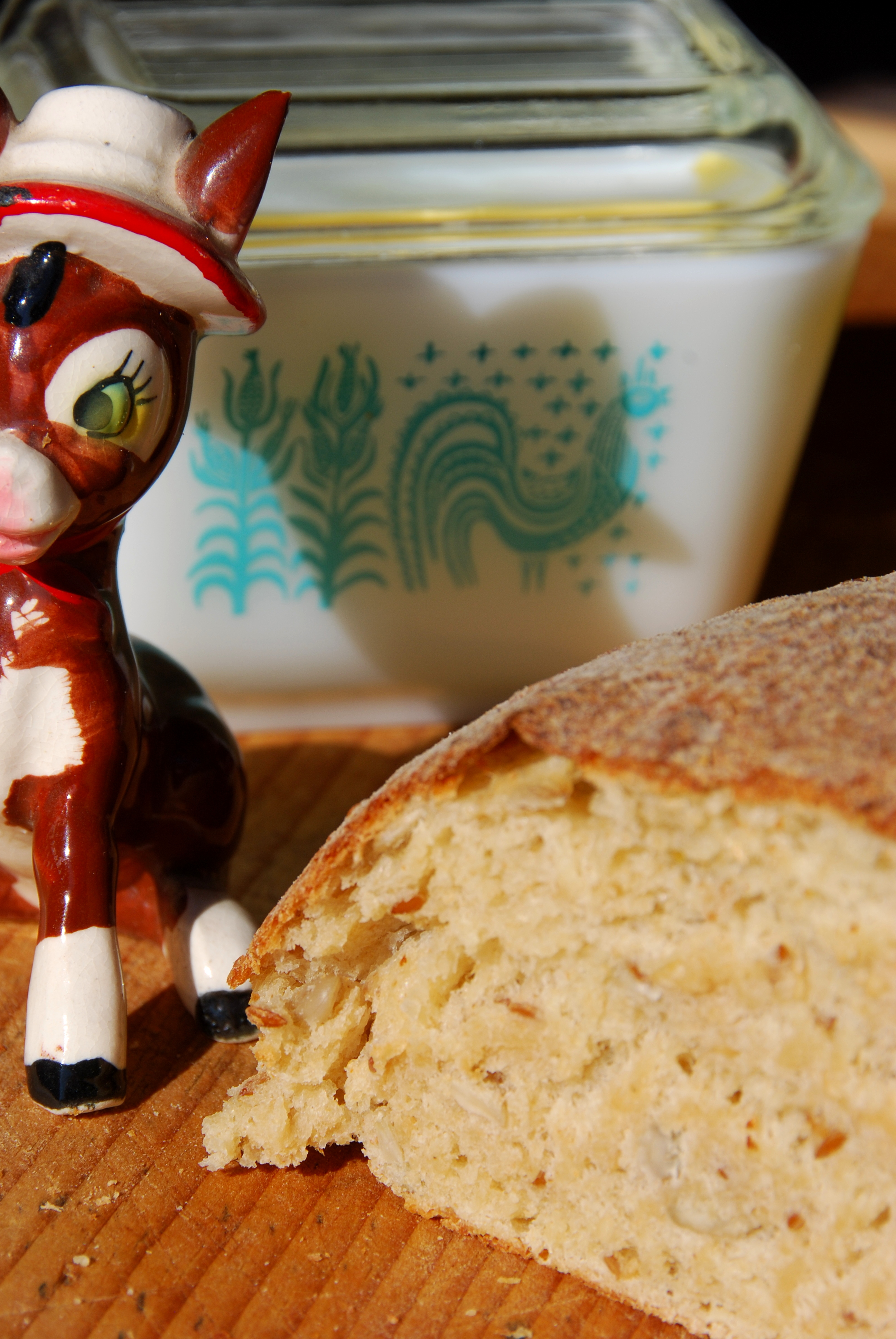 California Pixie makes Buttermilk Seed Bread