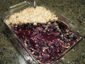 Whole Grain Fruit Cobbler
