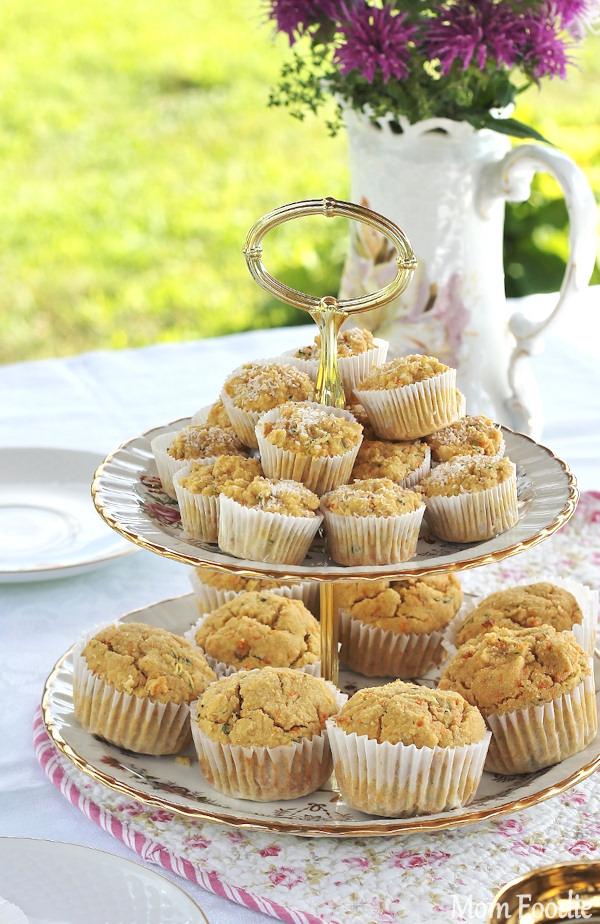 coconut maple veggie muffins gluten free