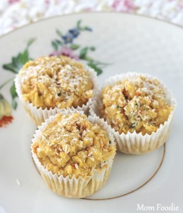 Coconut-Maple Veggie Patch Muffins : Gluten Free Recipe