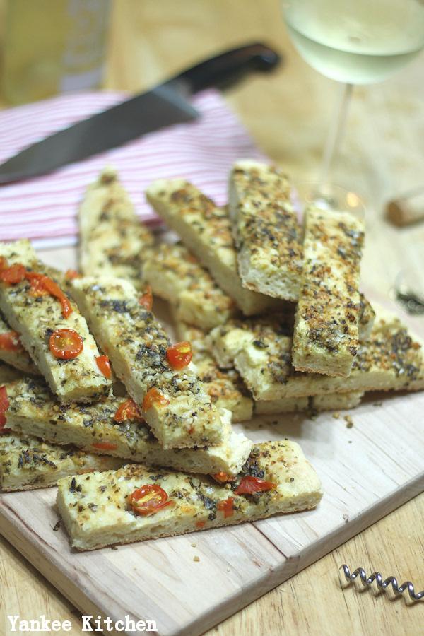 homemade focaccia gluten free