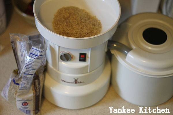 milling brown rice at home