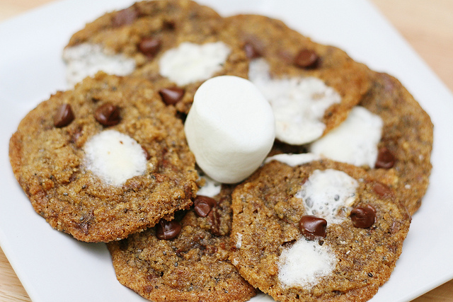 Whole Grain S'mores Cookies | Grain Mill Wagon
