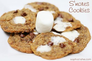Whole Grain S'mores Cookies