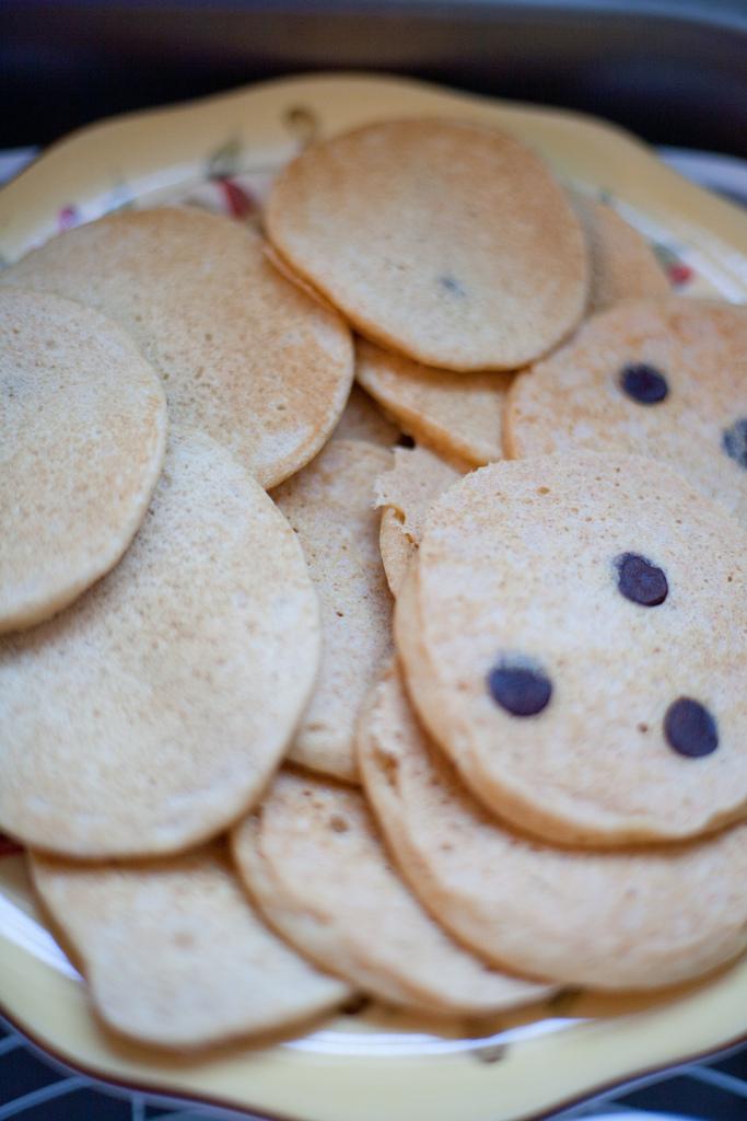 Basic Whole Wheat Pancake Batch