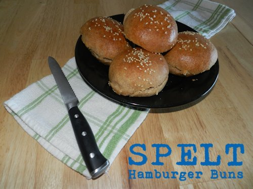 Spelt Hamburger Buns