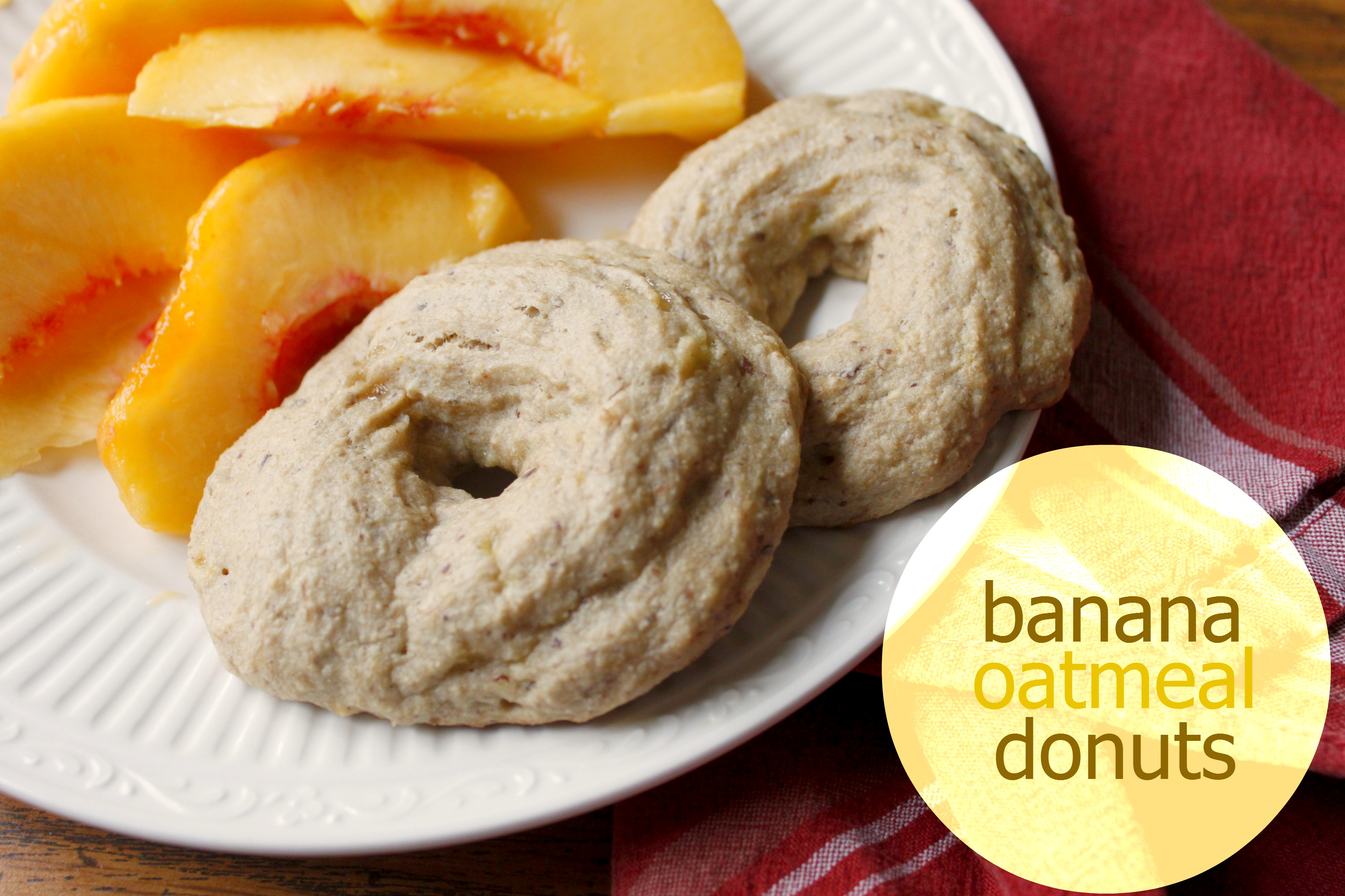 Banana Oatmeal Donuts: Gluten-Free, Dairy-Free, Egg-Free, Sugar-Free and Delicious!
