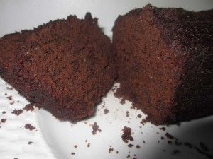 Dark Chocolate Snack Cake