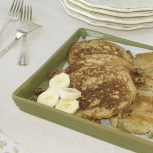 Grandma's Whole Wheat Pancakes