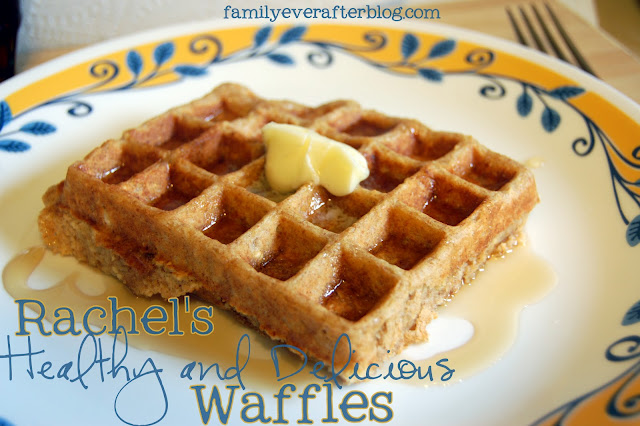 Rachel's Healthy and Delicious Waffles