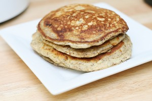 Whole Grain Chia Flax Pancakes