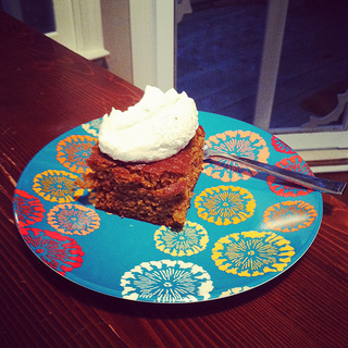 Fresh Milled Flour Pumpkin Cake