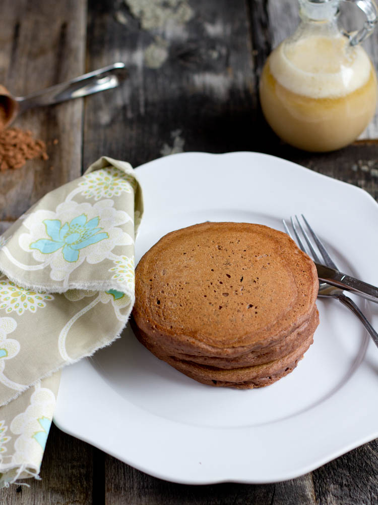 Multigrain Chocolate Pancakes