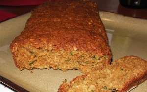 My First Zucchini Almond Bread