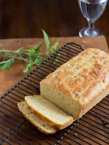 Cheese Bread with Fresh Herbs