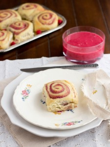 Raspberry Cream Cheese Rolls