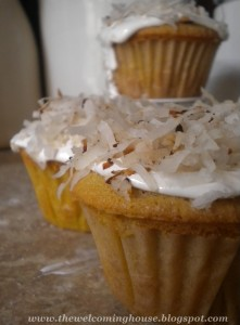 Crazy For Coconut Cupcakes….