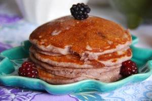 boysenberry pancakes