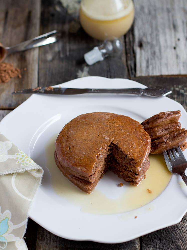 chocolate pancakes recipe