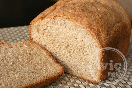 Simple Honey Whole Wheat Bread | Grain Mill Wagon