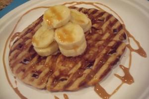 Waffle Tostada Dessert