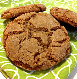 Buckwheat Molasses Cookies