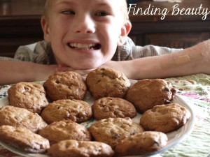 Gluten Free Spicy Chocolate Chip Cookies