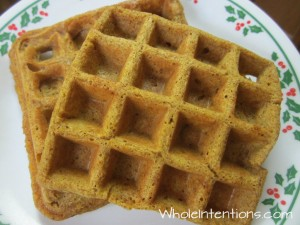 Sourdough Pumpkin Waffles – The Way to Start Your Day