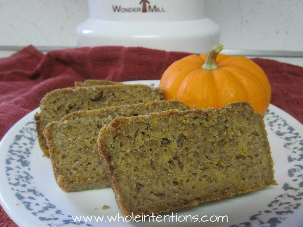 Sourdough Pumpkin Bread