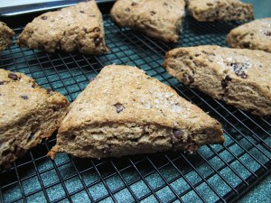 Recipe Box: Whole Wheat Chocolate Chip Scones