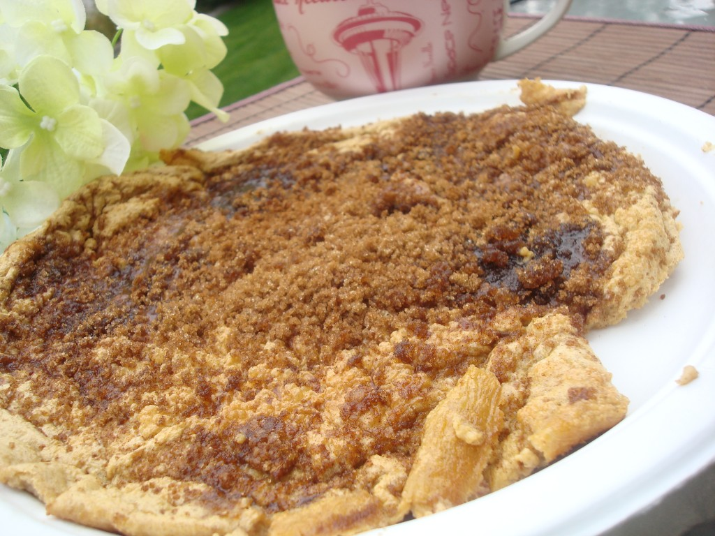 Cinnamon Brown Sugar Crusted German Pancake