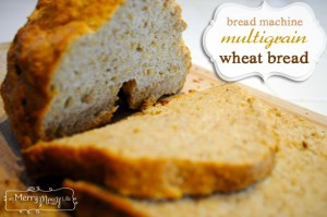 Multigrain Wheat Bread – Bread Machine Recipe