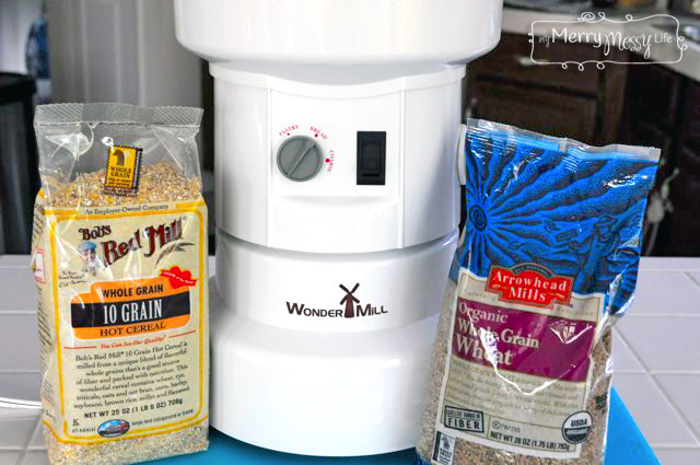 Multigrain Wheat Bread Machine Recipe - WonderMill Grain Mill