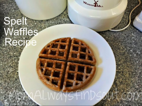 Delicious Spelt Pancakes or Waffles Recipe