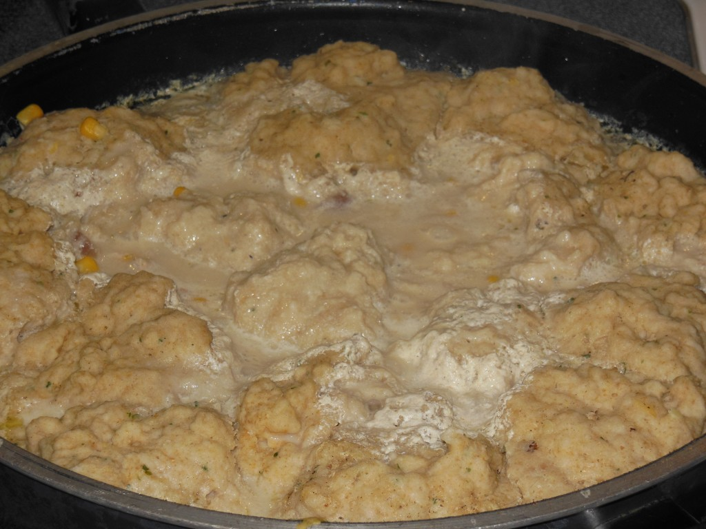 Chicken and Fresh Wheat Dumplings