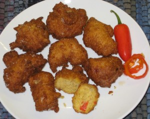Hush Puppies with Jalapenos