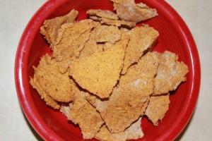 Crunchy Chili Chickpea Chips – Gluten Free!