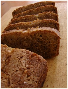 Apple Banana Bread with Rice Flour