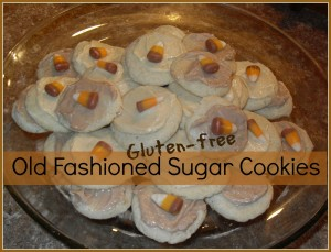Gluten-free Old Fashioned Sugar Cookies