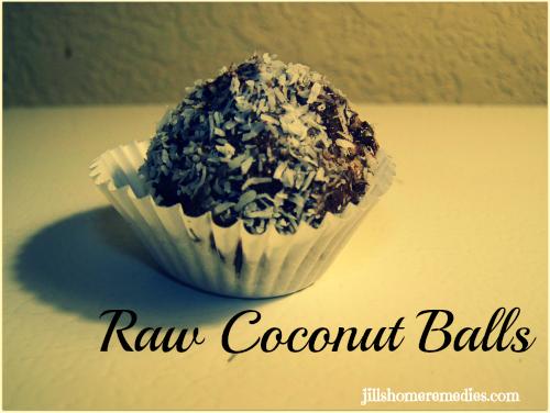 Raw Coconut Balls